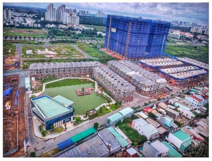 tiến độ các dự án căn hộ quận 7 2019
