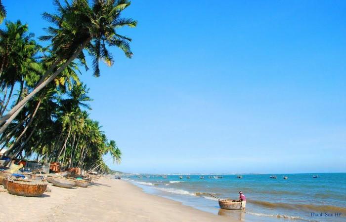 bãi biển ở Mũi Né