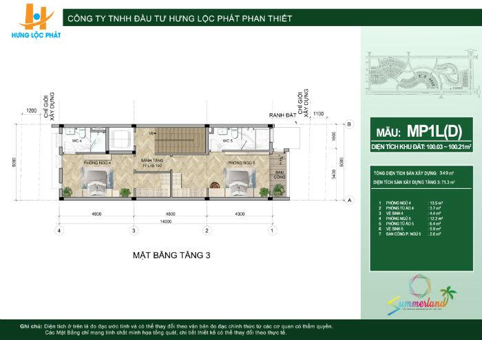 thiết kế chi tiết dự án mũi né summerland resort