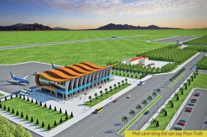Quy hoạch dự án sân bay phan thiết bình thuận 2019