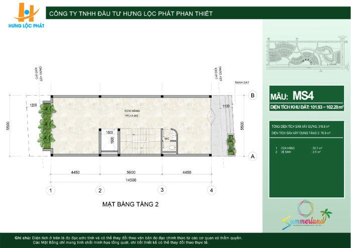 thiết kế chi tiết shophouse dự án summerland
