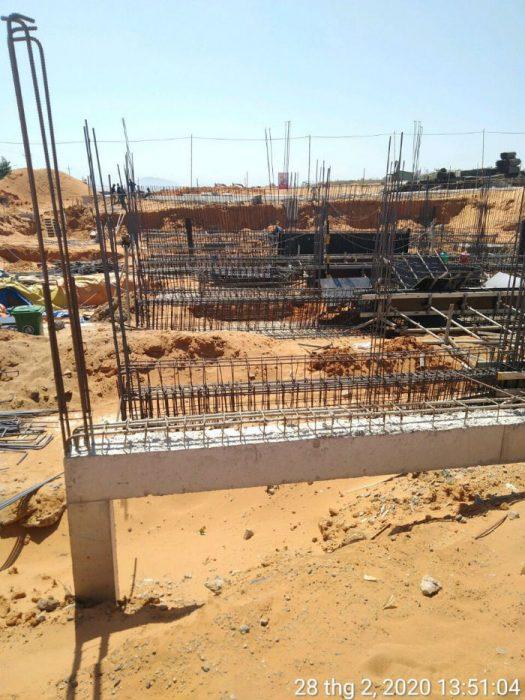 tiến độ dự án mũi né summerland resort tháng 02/2020
