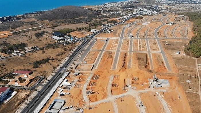 tiến độ dự án mũi né summerland resort