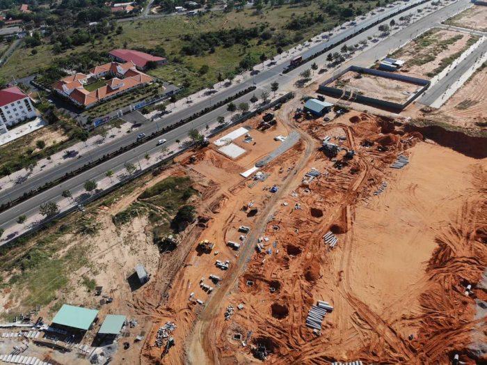tiến độ thi công pháp lý dự án Mũi Né Summerland Resort 2020