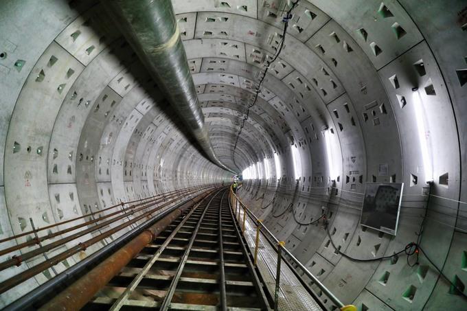 tiến độ tuyến tàu điện ngầm sài gòn
