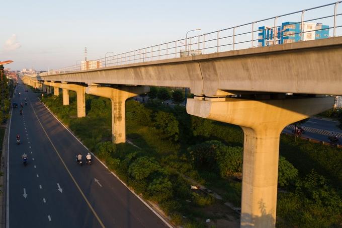 tiến độ tuyến đường sắt metro hcm
