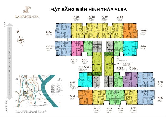 tháp Alba dự án la partenza