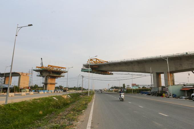 tiến độ dự án cao tốc bến lức long thành 2019,2020