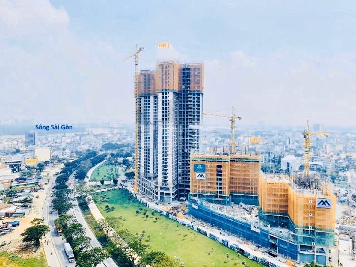 tiến độ dự án căn hộ chung cư quận 7 eco green sài gòn xuân mai