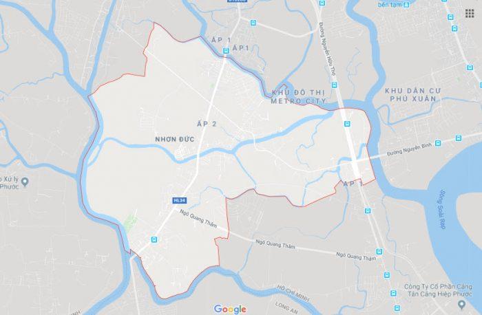 Xã nhơn đức huyện nhà bè TPHCM